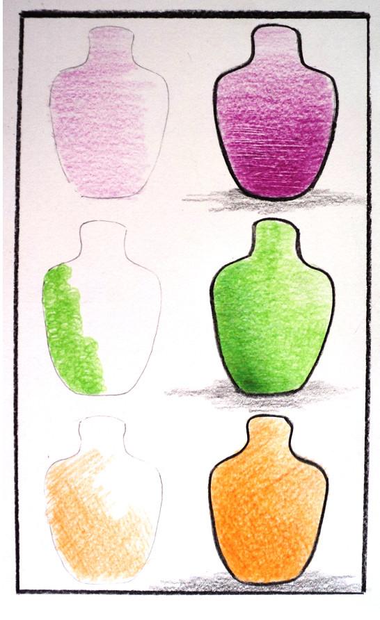 Oficina Pintura Com Lapis Acrilex Tintas Artisticas